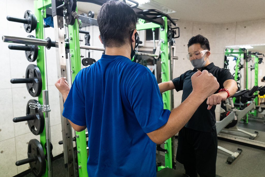 24/7Workout 川崎店 ベンチプレス スミスマシン